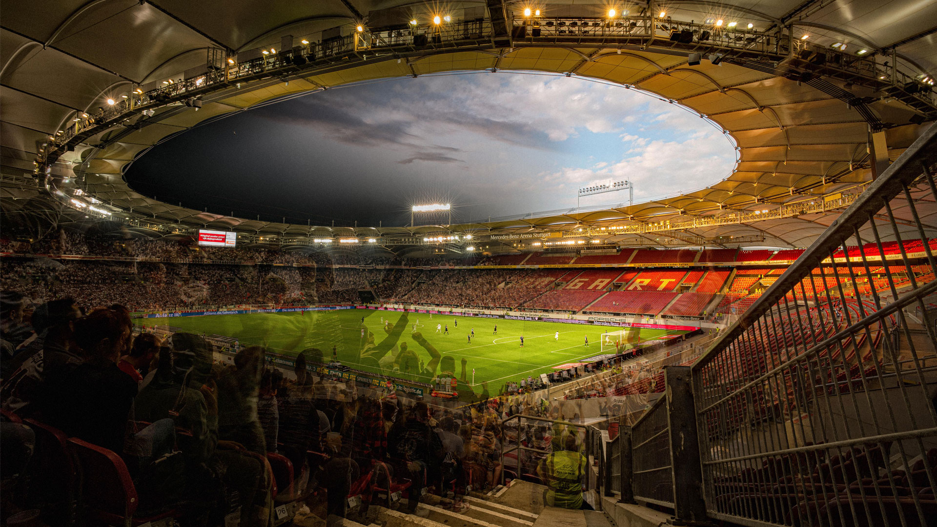 Vfb Stuttgart Stadion - Mercedes Benz Arena Stuttgart ...