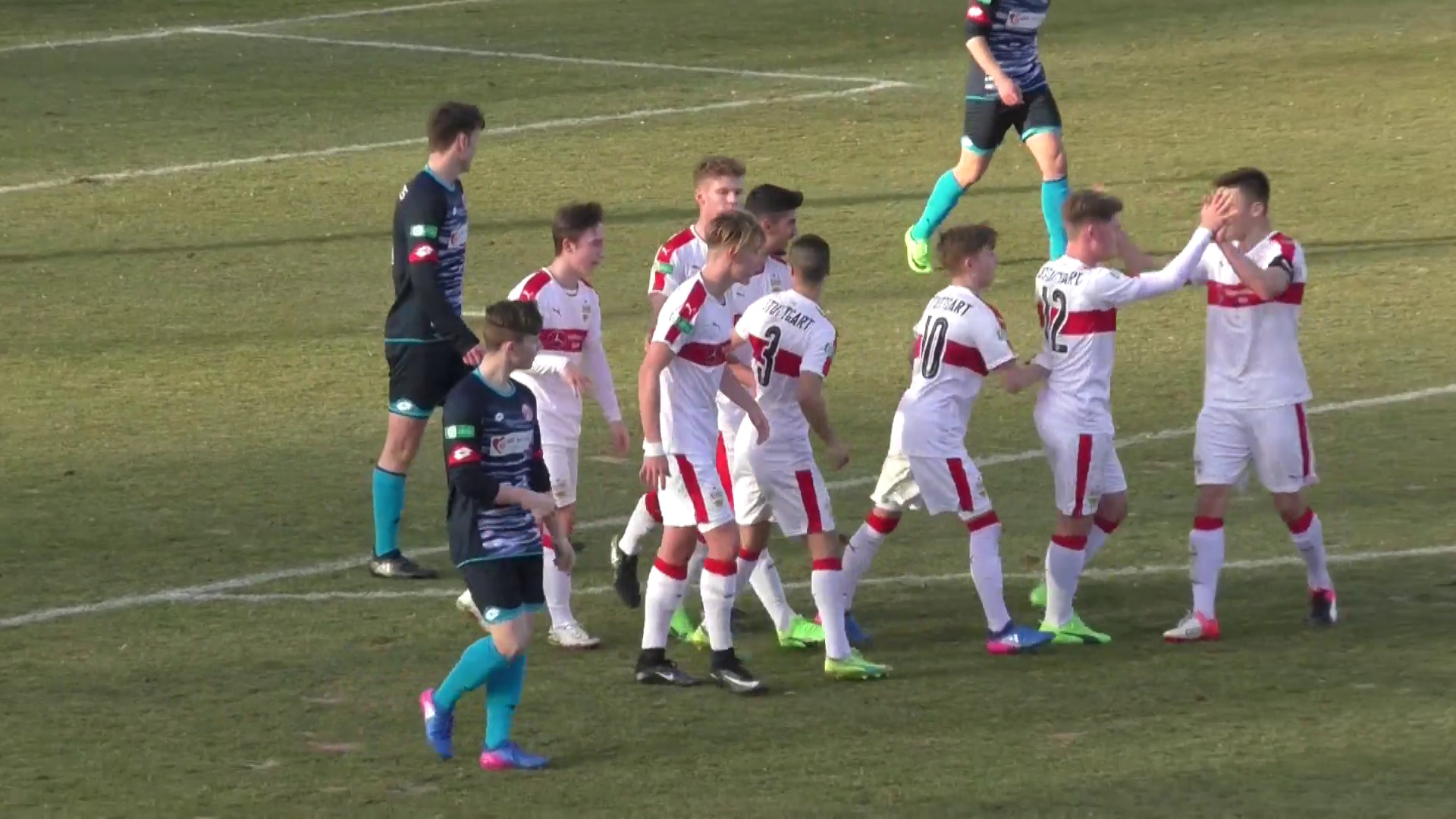 Highlights: VfB U17 - 1. FSV Mainz 05