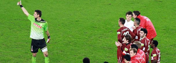 Achtelfinale DFB-Pokal VfB - HSV