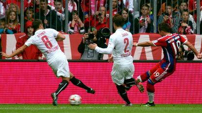 1415 BL 3 Galerie Bayern München - VfB
