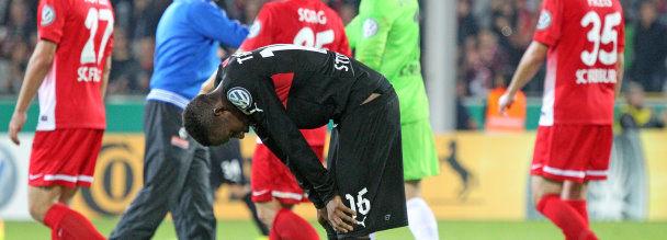 Pokal 2. Runde Galerie SC Freiburg-VfB
