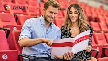 VfB Stuttgart Akademie präsentiert Master-Studiengänge bei Master & More
