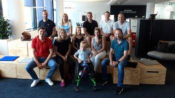 VfB Master Studierende informieren sich in der Daimler-Zentrale