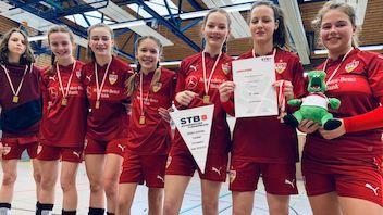 U14-Mädels sind Landesligameister