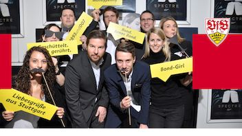 15. November 2015 | Weiß-rote Business Events | James Bond - Spectre | UFA-Palast Stuttgart