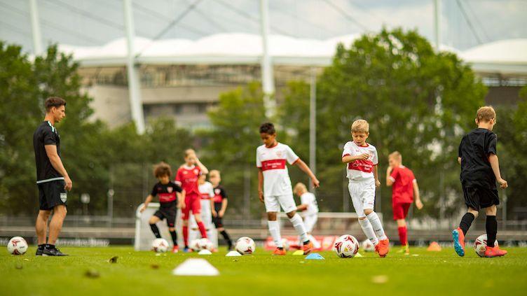 Fördertraining der VfB Fußballschule