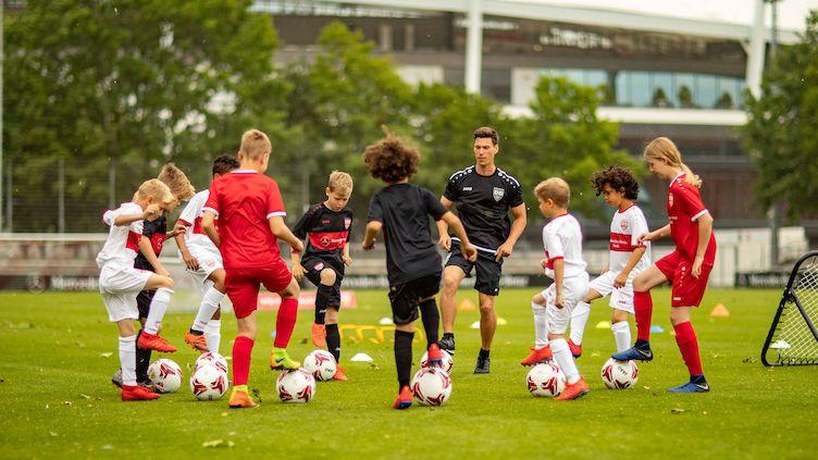 Camps der Fußballschule