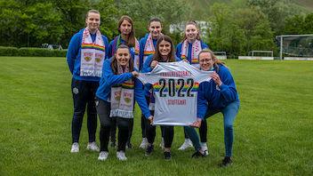 Gute Wünsche für den VfB Frauenfußball