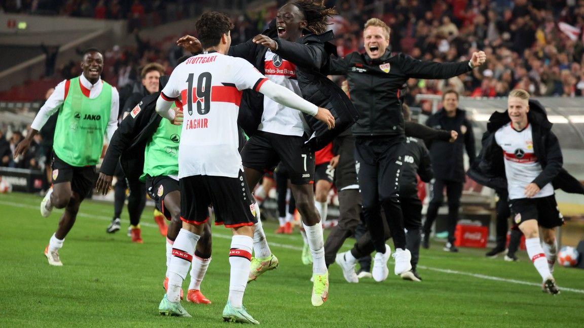 10-man VfB earn last-gasp point