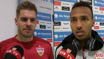 Die Interviews nach dem Spiel bei 1860 München