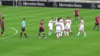 Highlights: VfB Stuttgart U19 - 1. FC Nürnberg