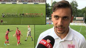 Testspiel-Highlights: Stuttgarter Kickers - VfB