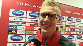 Timo Baumgartl nach der Partie in Heidenheim