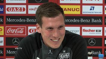 Die Spieltags-PK vor dem HSV-Spiel