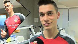 Im Interview: VfB Neuzugang Erik Thommy