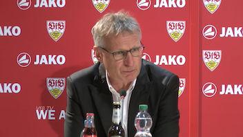 Sonder-PK mit VfB Vorständen
