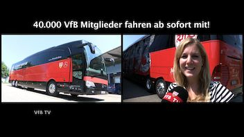 Der neue Mannschaftsbus 2018/2019