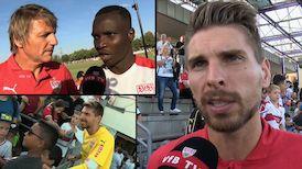 Die Interviews nach dem Test gegen Real Sociedad
