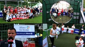 VfBfairplay: PFIFF zu Gast beim Bürgerfest im Schloss Bellevue