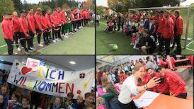 VfB Besuch in der Nachsorgeklinik in Tannheim