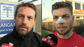 Die Interviews nach dem Testspiel gegen den FC Utrecht