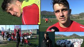 Das Training am Dienstag Vormittag und Marc Oliver Kempf im Interview