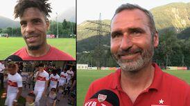 Die Interviews nach dem Testspiel gegen den FC Wacker Innsbruck