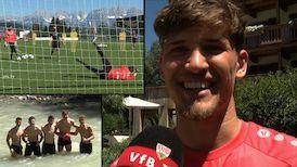 VfB Keeper Gregor Kobel im Interview