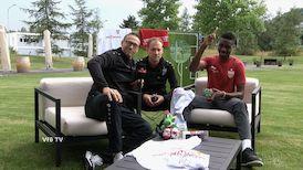 Trainingslager-Talk mit Maxime Awoudja