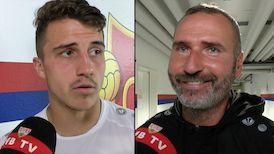 Die Interviews nach dem Testspiel in Basel