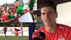 Im Interview: Mario Gomez