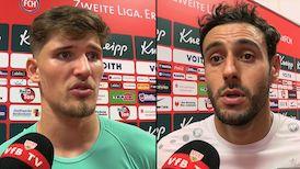 Die Interviews nach dem Spiel beim 1. FC Heidenheim