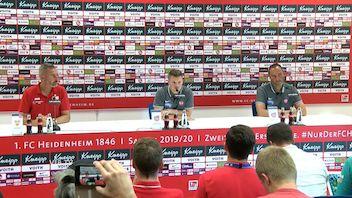 Pressekonferenz: 1. FC Heidenheim - VfB Stuttgart