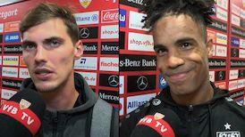 Die Interviews nach dem Heimspiel gegen den VfL Bochum