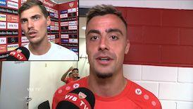 Die VfB Interviews nach dem Heimspiel gegen Fürth