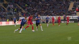 1. Halbzeit: Bielefeld - VfB Stuttgart