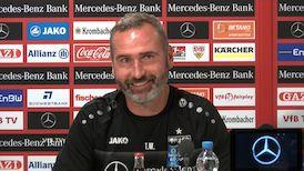 Die Pressekonferenz vor dem Spiel gegen Wehen Wiesbaden