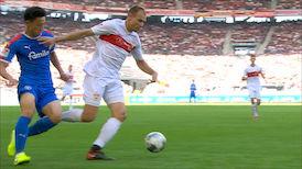 2. Halbzeit: VfB Stuttgart - Kieler SV Holstein
