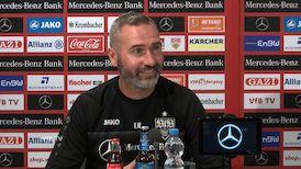 Die Pressekonferenz vor dem Liga-Spiel beim HSV