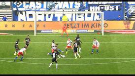 2. Halbzeit: Hamburger SV - VfB Stuttgart