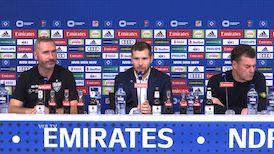 Pressekonferenz: Hamburger SV - VfB Stuttgart