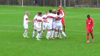 Highlights U19: 1. FC Kaiserslautern - VfB Stuttgart