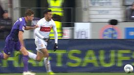 2. Halbzeit: VfL Osnabrück - VfB Stuttgart