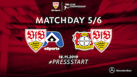 Highlights VfB eSports: Bayer 04 Leverkusen - VfB Stuttgart