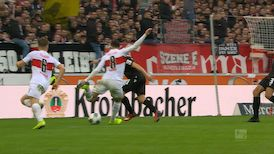 2. Halbzeit: VfB Stuttgart - Karlsruhe