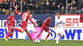 1. Halbzeit: Sandhausen - VfB Stuttgart