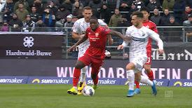 2. Halbzeit: Sandhausen - VfB Stuttgart