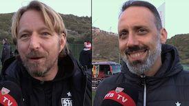 Die Interviews nach dem Testspiel gegen den FC Basel