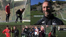 Uwe Gospodarek am sechsten Trainingstag in Marbella