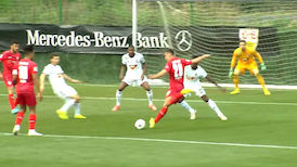 1. Hälfte: VfB Stuttgart – MOL Fehérvár